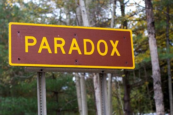 Main Difference - Irony vs Paradox