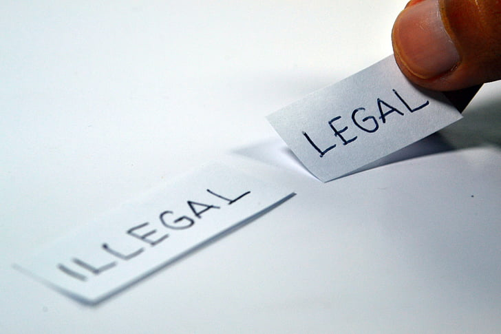 Difference Between Illegal and Illicit
