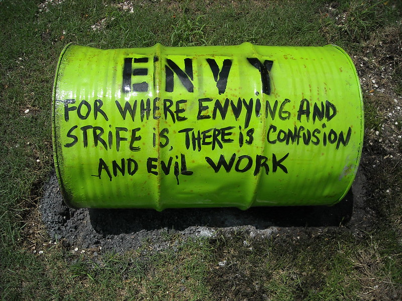 Difference Between Envy and Covet