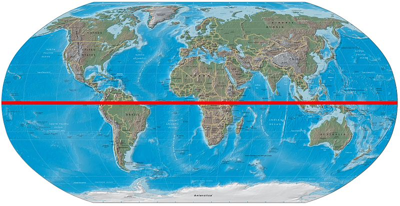 Main Difference - Equator vs Prime Meridian
