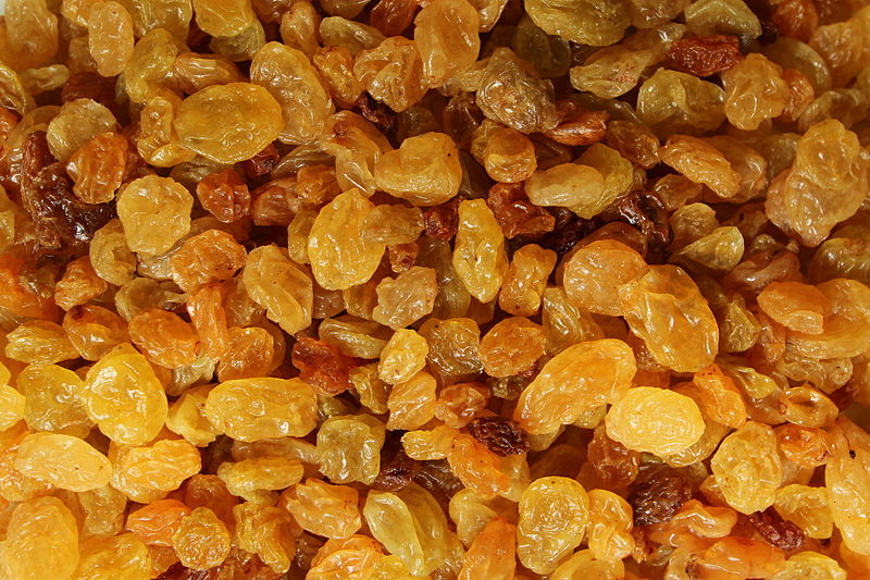 Difference Between Currants Sultanas and Raisins