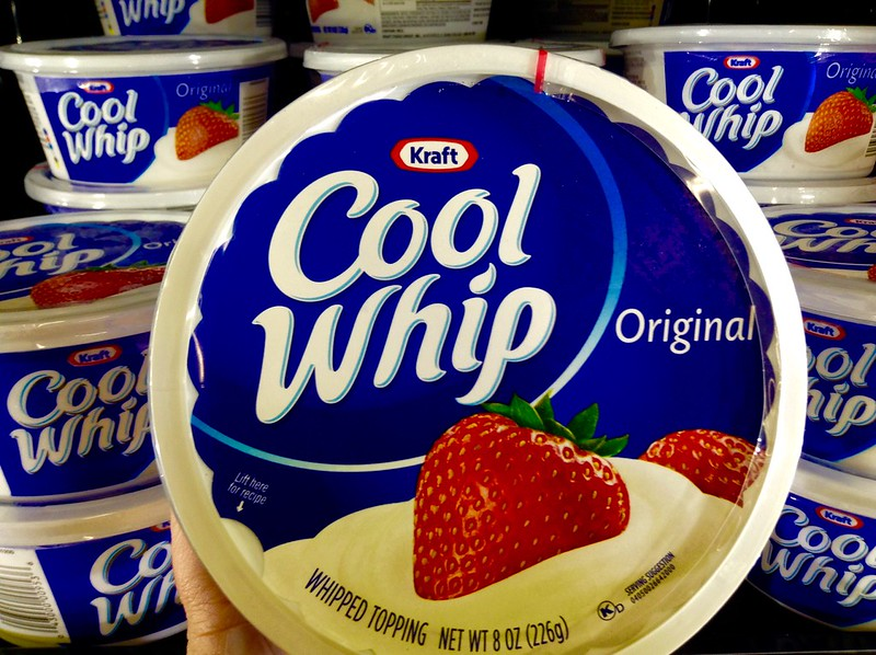 Compare Cool Whip and Whipped Cream