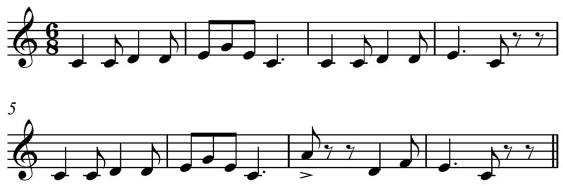 Compare Monophony Polyphony and Homophony