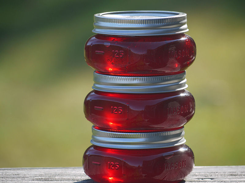 Compare Jam and Jelly