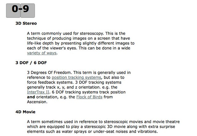 Compare Glossary and Dictionary
