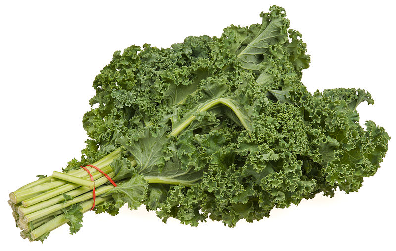 Compare Kale and Lettuce